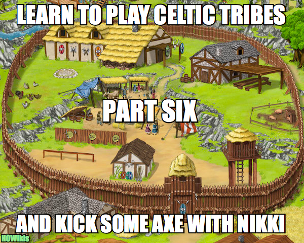 Celtic Tribes, Make your Village the Most Powerful of All