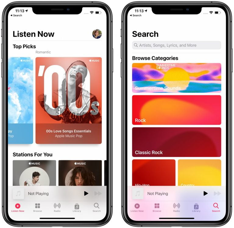 Changing your country in Apple Music clears your entire music library
