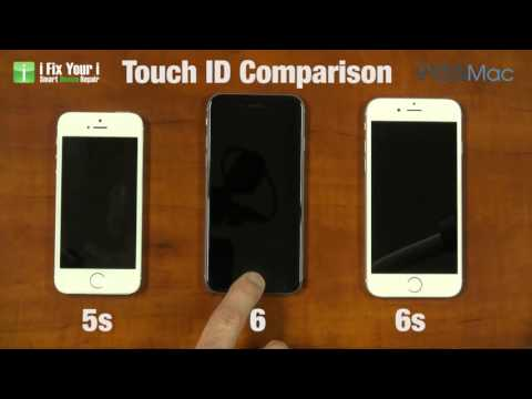 Comparison between the 1st Generation iPhone and the iPhone 5s