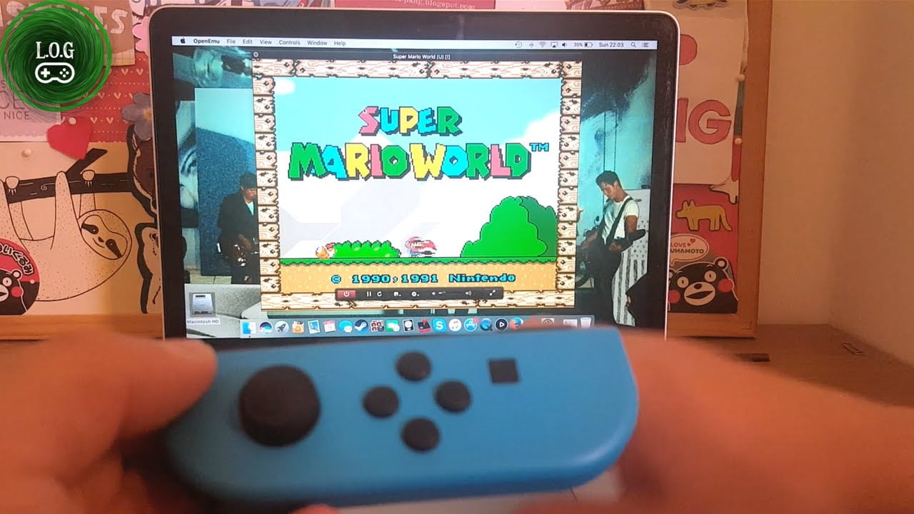 Connecting a Joy-Con from the Nintendo Switch to a Mac