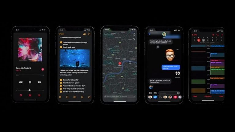 December Beta supports iOS 13 features