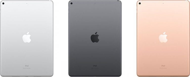 Design differences between iPad Air and iPad 4