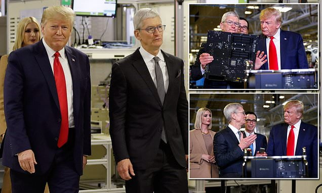 Donald Trump to Urge Apple to Manufacture Products in the U.S.