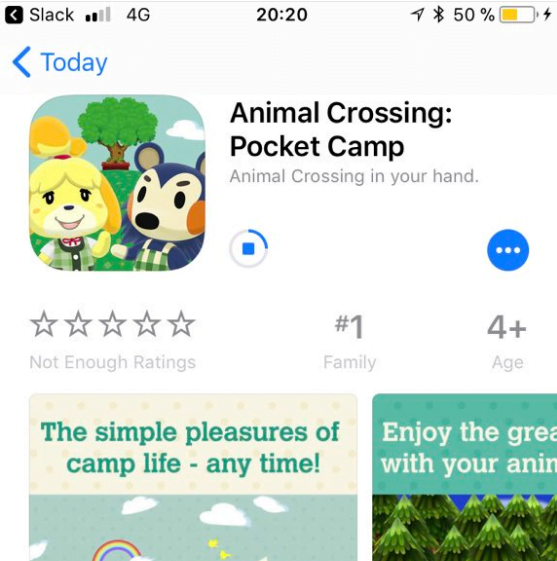 Download the hit Nintendo Animal Crossing: Pocket Camp for iPhone now