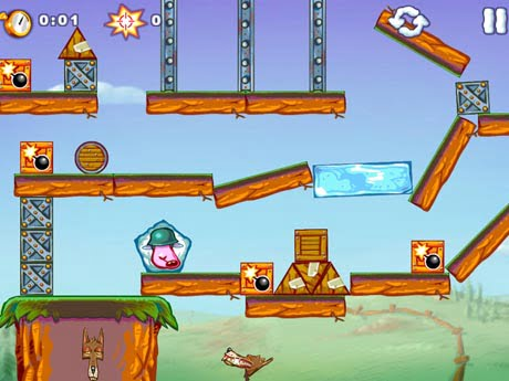 Enjoy a new adventure with the iBalst Moki 2 HD game for iPad