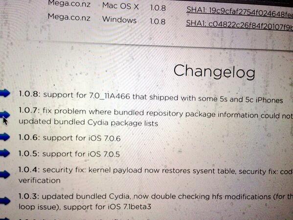 Evasi0n7 1.0.7 Fixes Package Listing Problem on Cydia
