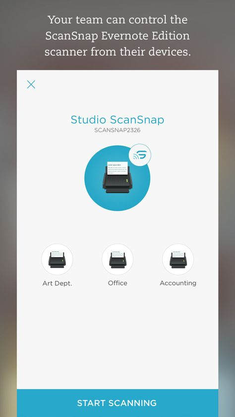 Evernote's 'Scannable', an App for Scanning Documents