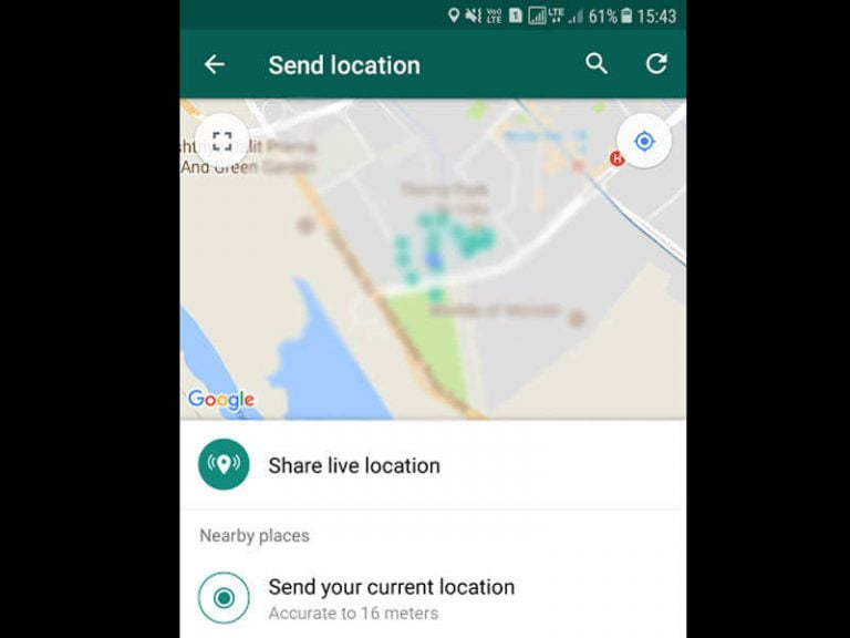 Find out the exact live location of your WhatsApp contacts