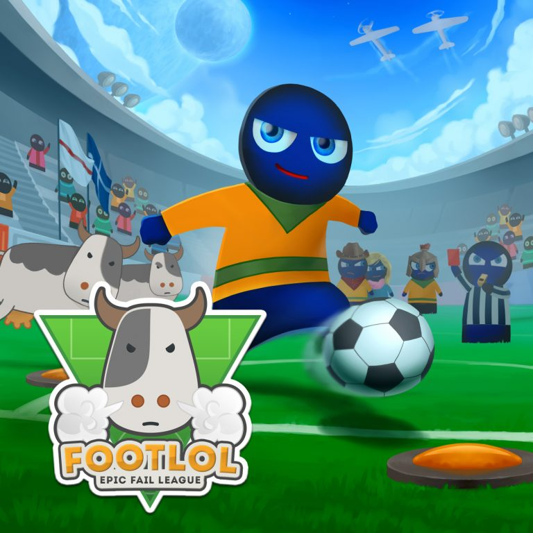 FootLOL, a crazy and very funny football game