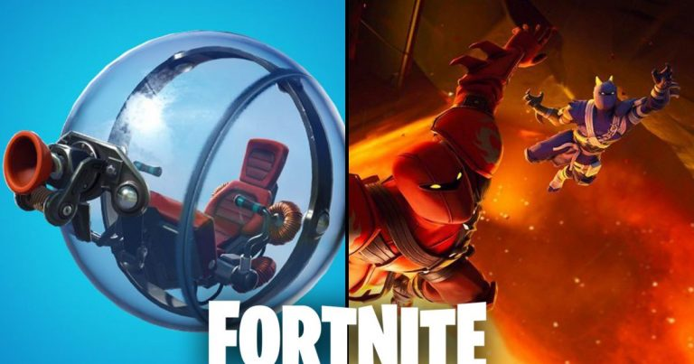 Fortnite updates with new epic rarity item for teleportation