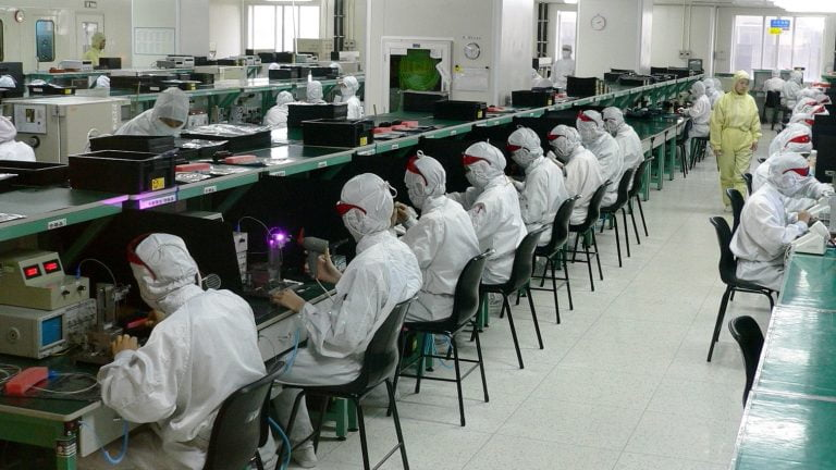 Foxconn says it already has enough workers to make the iPhone 12
