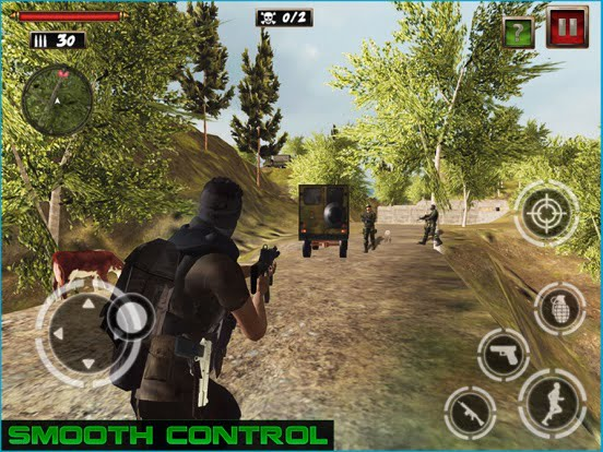 Frontline Commando for iPad, a Free Spectacular Shooter