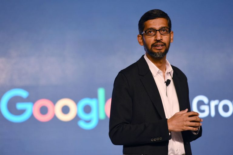 """Google's CEO attacks Apple saying it """"sells privacy as a luxury good"""""""