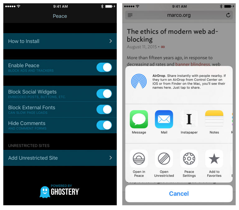 Here's how ad blockers will work in iOS 9