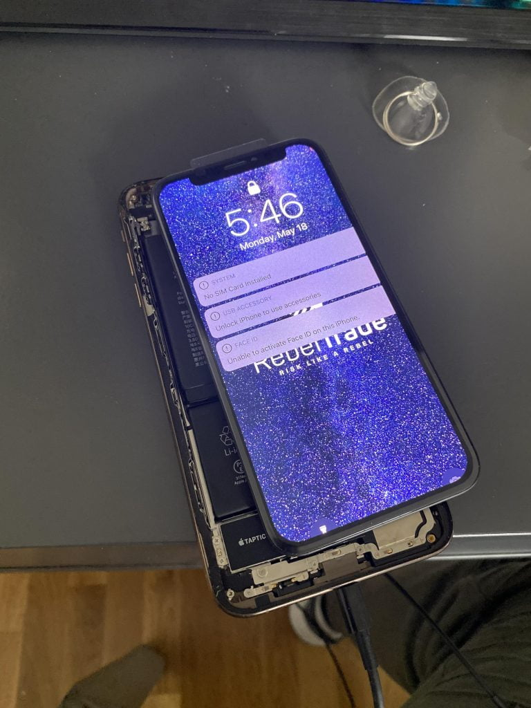 How to activate the iPhone X screen