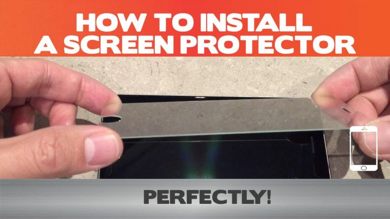 How to Correctly Mount a Screen Saver on iPad
