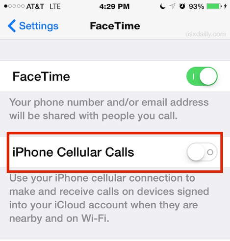 How to Disable iPhone Phone Calls