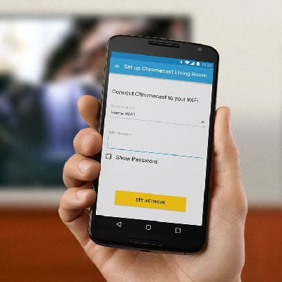 How to duplicate the iPhone screen on TV with Chromecast