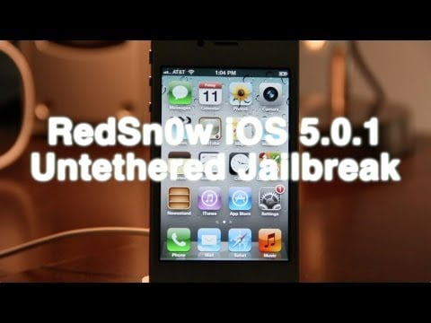 How to Jailbreak your iPhone 4S or iPad 2 with RedSn0w