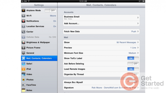 How to Make iOS Ask Before Deleting an Email