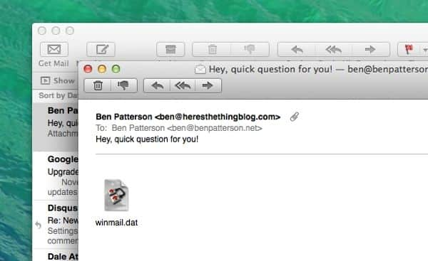 How to Open Winmail.dat Attachments on iPhone and iPad with TNEF Enough