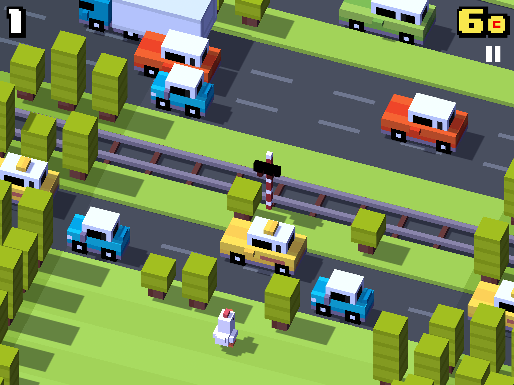 How to Play Crossy Road Multiplayer on Apple TV