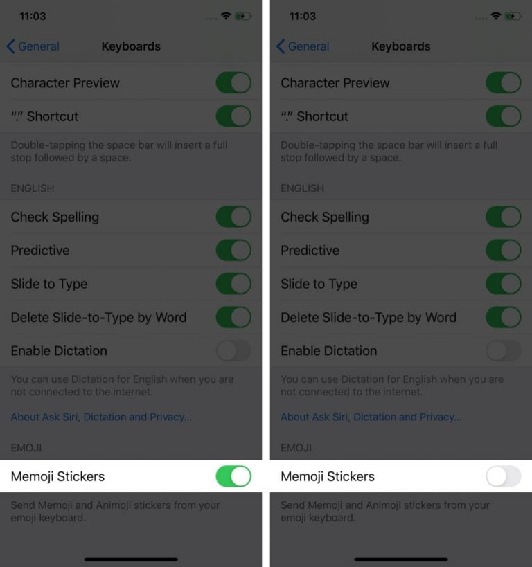 How to remove Memoji and Animoji stickers from the iPhone keyboard