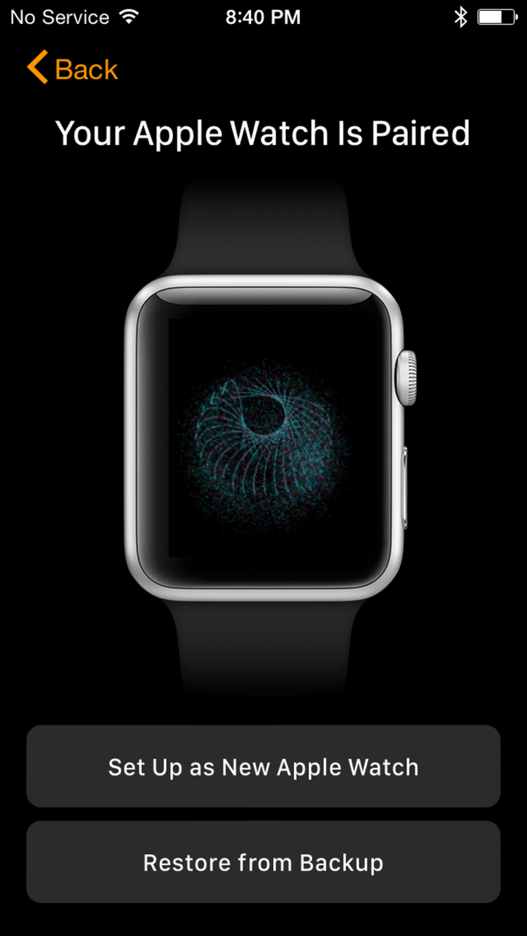 How to Restore a Backup on the Apple Watch