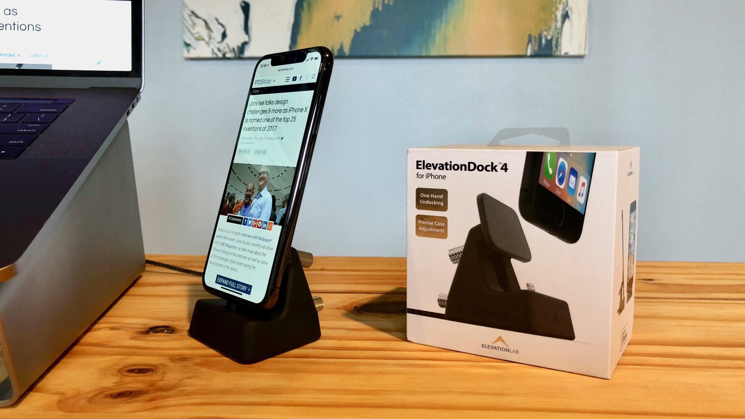 How to set up your iPhone X for one-handed use