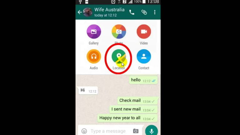 How to share your location in iMessage, WhatsApp and other apps