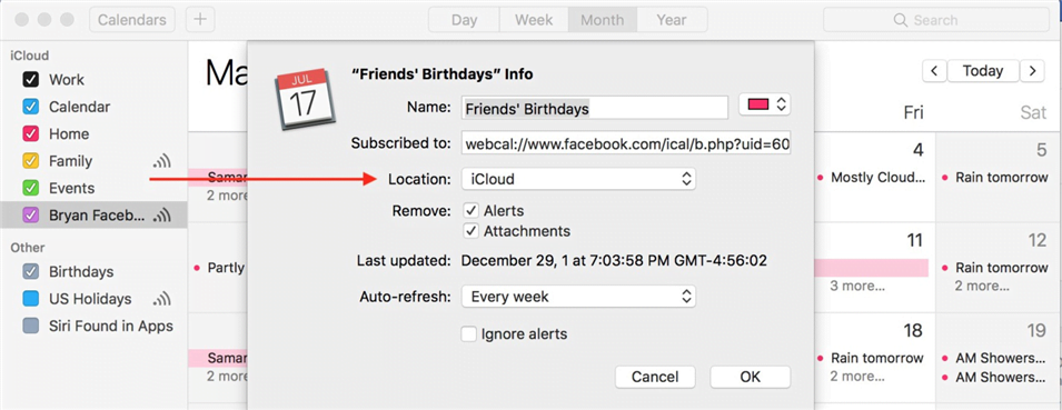 How to Sync FB Events with the iPhone Calendar
