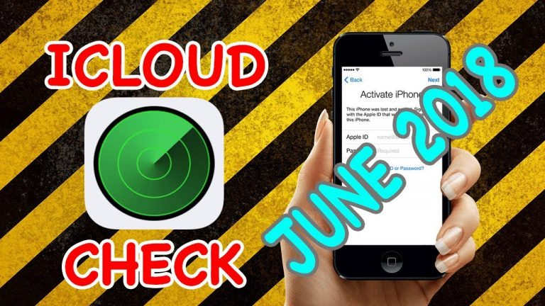How to tell if an iPhone is blocked by iCloud