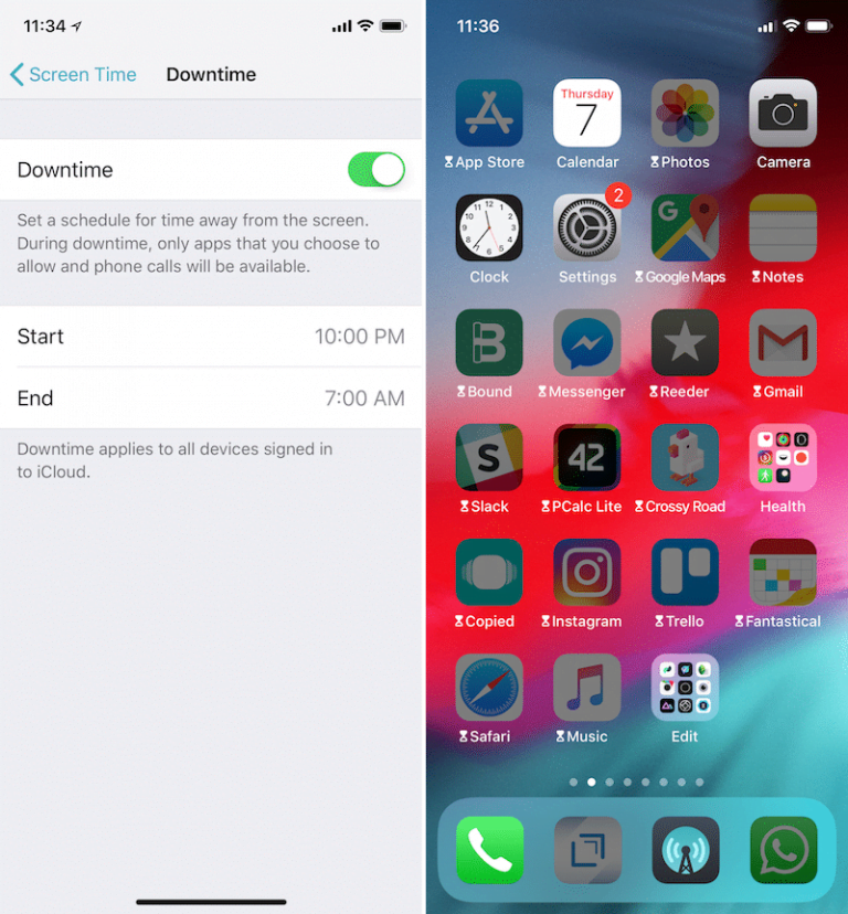 How to temporarily activate Do Not Disturb on iOS 12