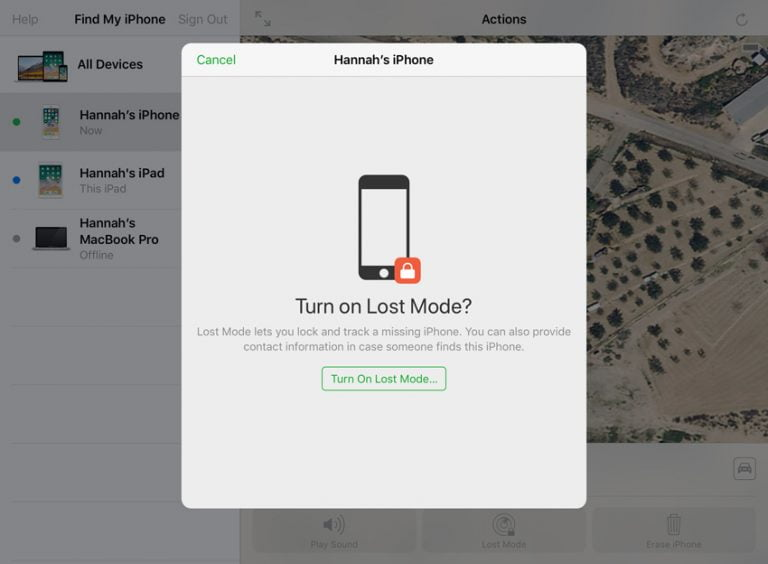 How to Track a Lost or Stolen iPhone or iPad