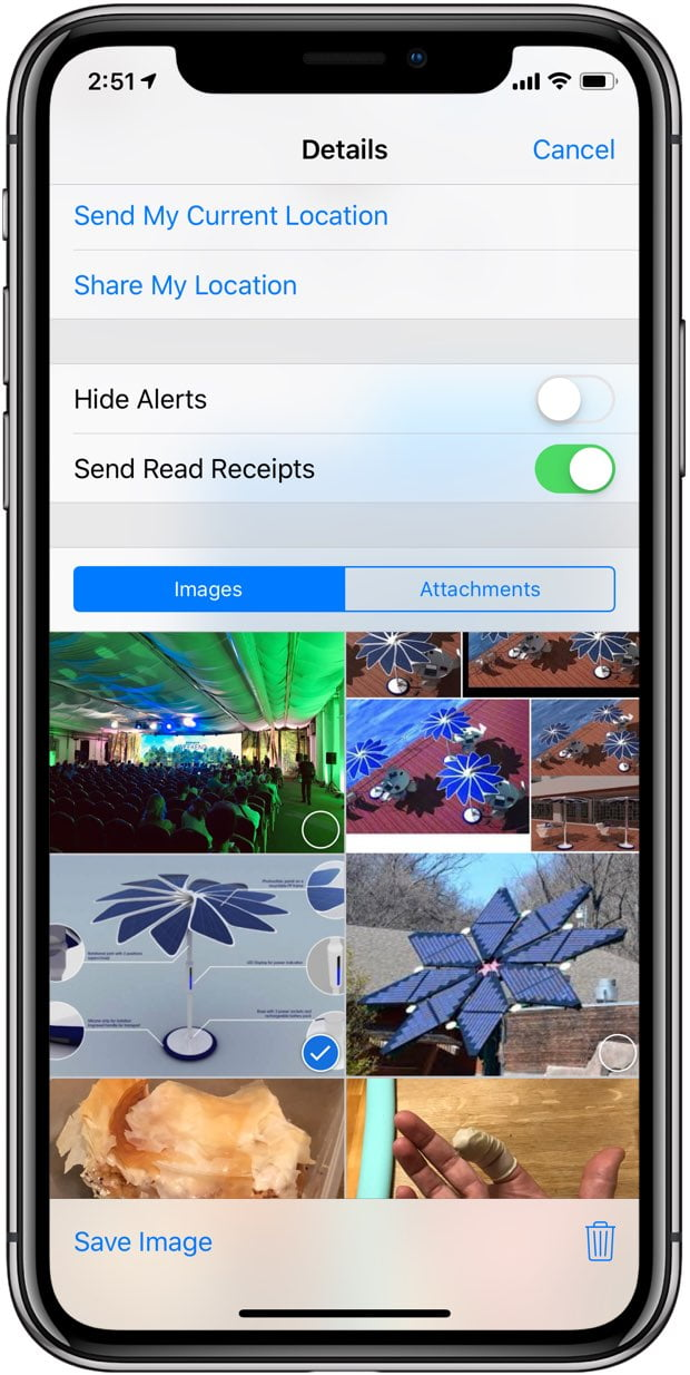 How to View All Images and Videos Sent with iMessage