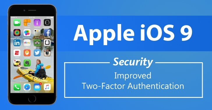 How Two-Factor Authentication Works in iOS 9