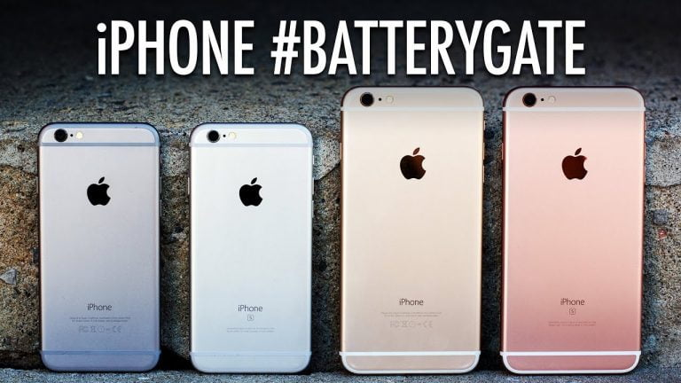 iPhone 8 and iPhone X, less affected by the batterygate