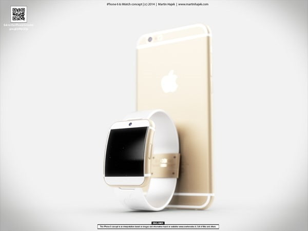 iWatch May Appear Next to iPhone 6 in September