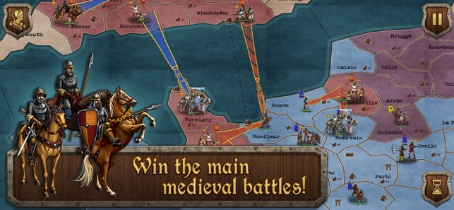 Knights' Duel, a Medieval Rivalry Game for iPhone and iPad