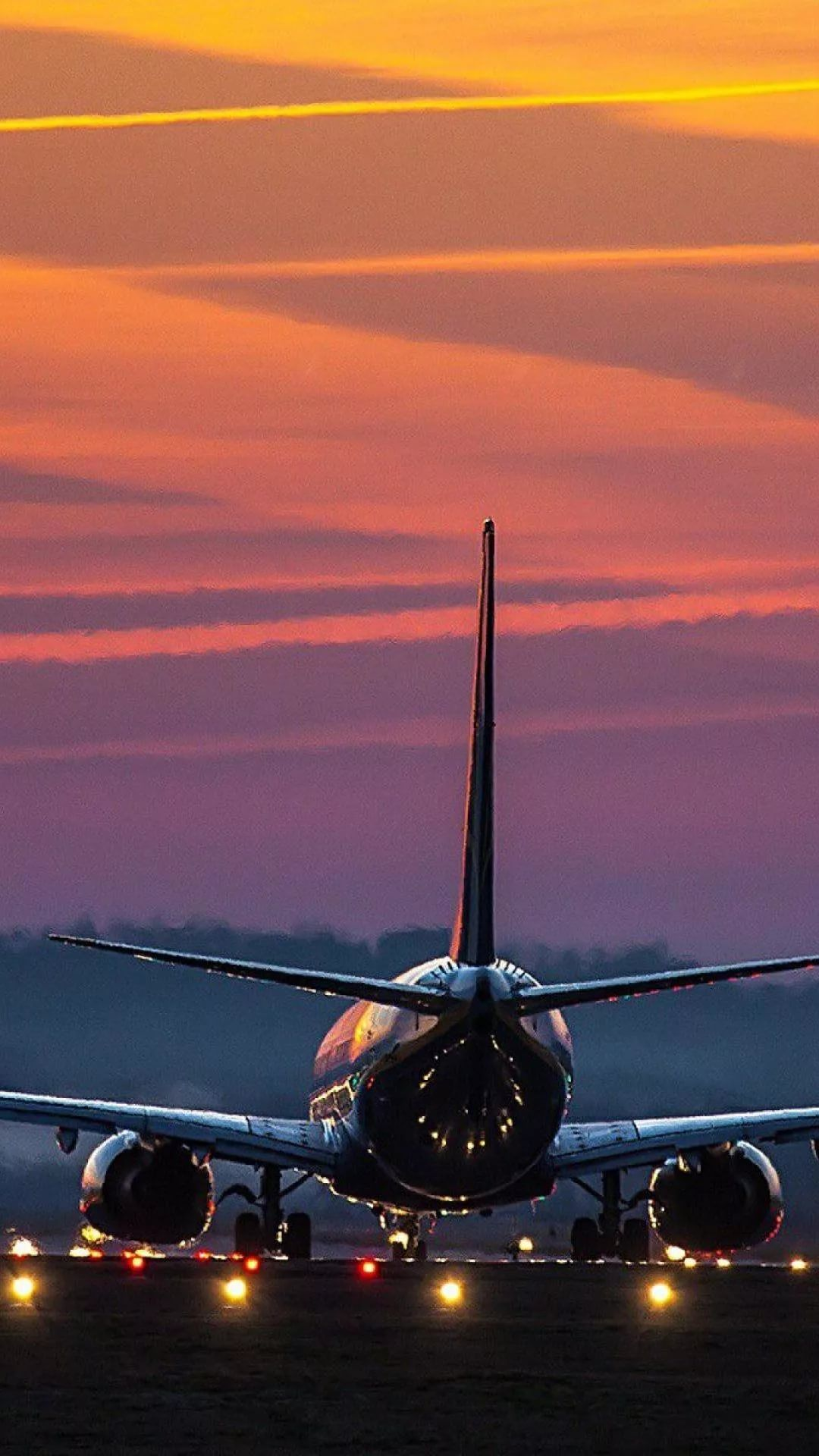 Nice Airplane Photo Wallpapers for iPhone