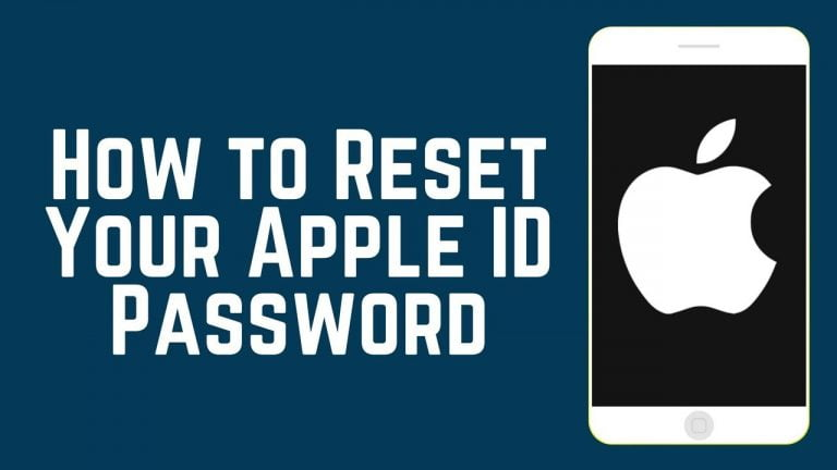 Recovering your Apple ID password