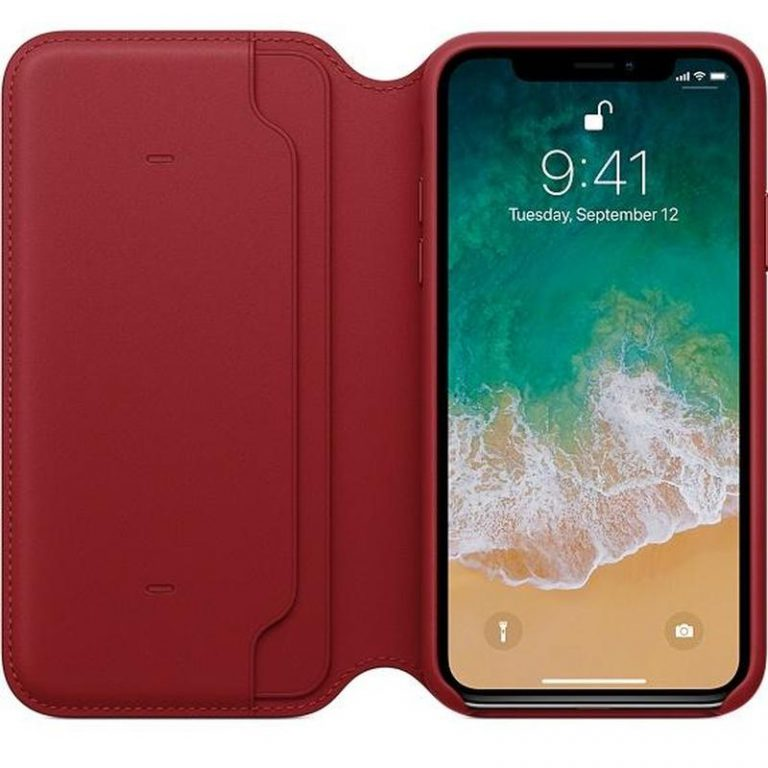 Red also comes to iPhone X in a case
