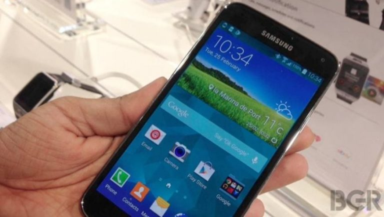 Samsung Galaxy S5 on Sale Early in South Korea