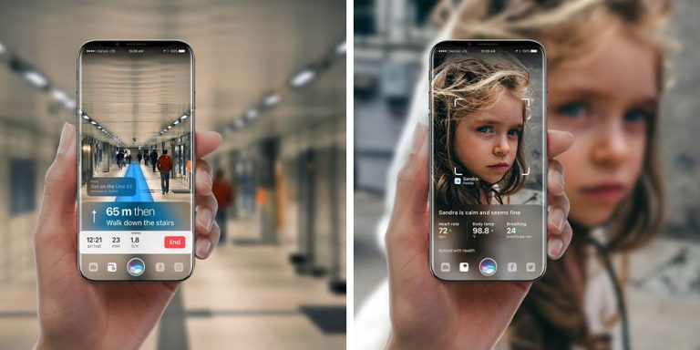 So you can have Augmented Reality on your iPhone