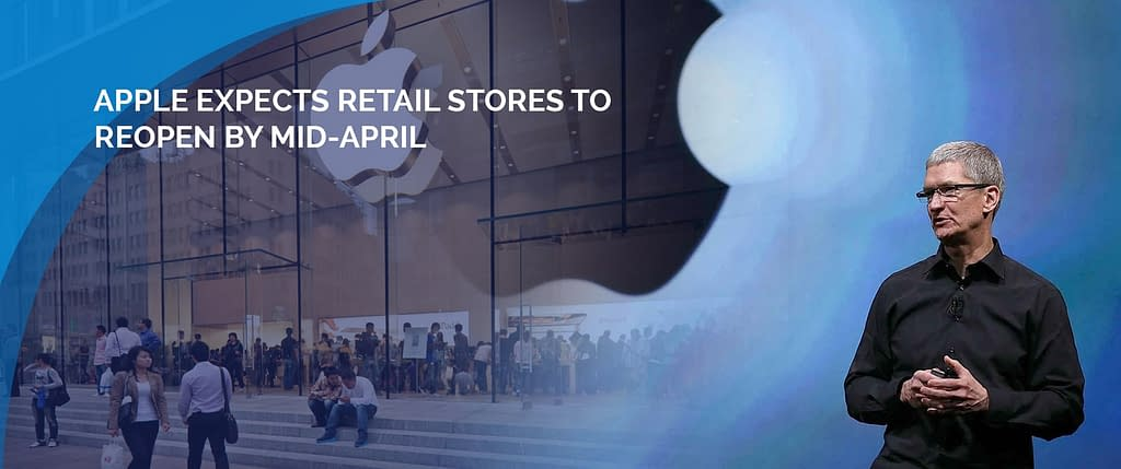Some Apple stores will reopen in mid-April