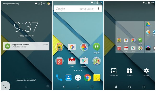 Some of the Problems Android Lollipop Has