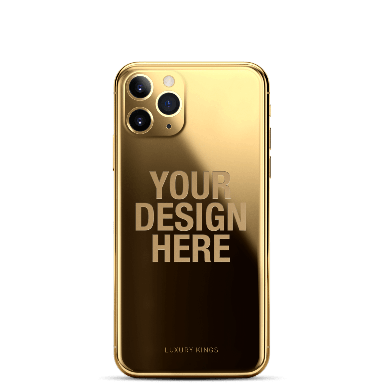 the 24-carat gold iPhone that Apple would like to sell you