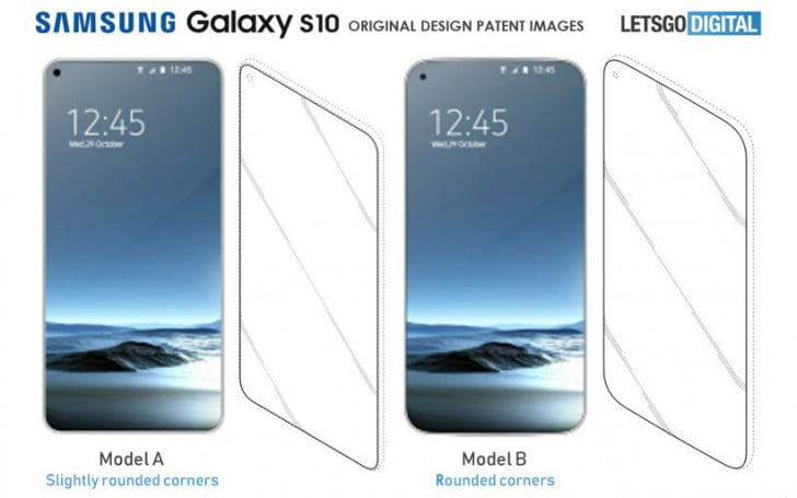 The Galaxy S10 will not have notch but will include an asymmetrical hole in the screen