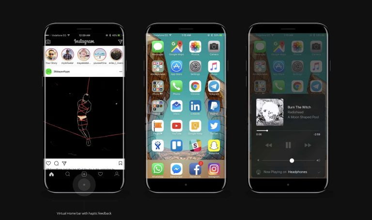 """The iPhone 8 would arrive with a """"function bar"""" and new sizes"""