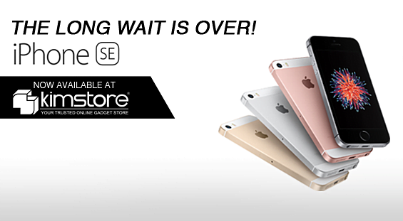 The iPhone SE is now available for purchase at the Apple Online Store